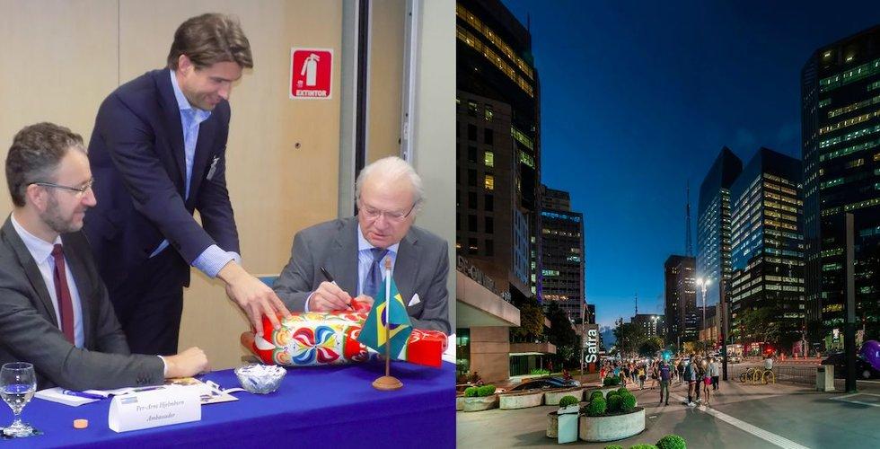 Efter mötet med svenska kungen – nu tar de Epicenter till Brasilien