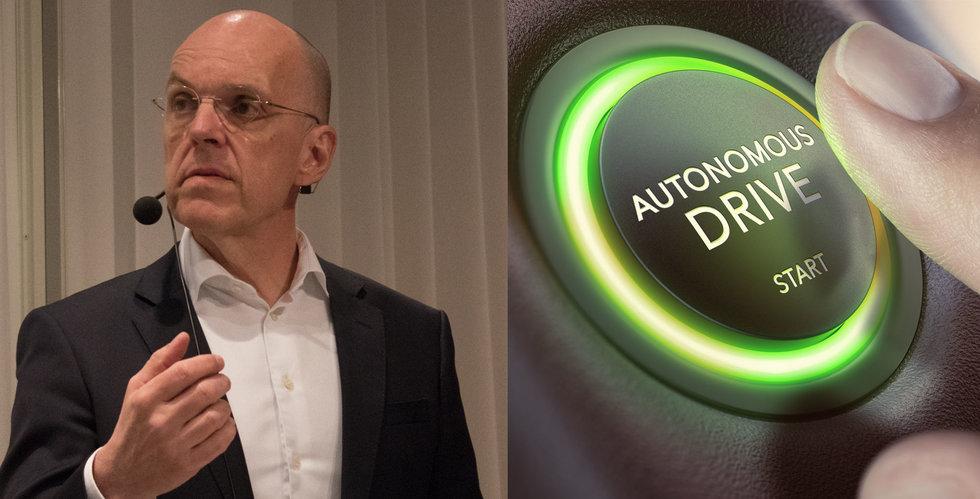 """Veoneers vd Jan Carlson om självkörande bilar:  """"Här tror jag att vi leder"""""""