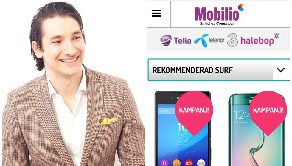 Breakit - Schibsted köper resten av Mobilio - grundaren lämnar företaget