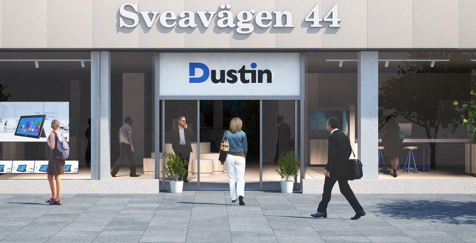 Dustin köper danska Inventio.IT