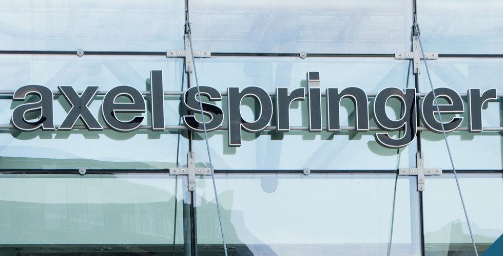 Axel Springer i samtal om förvärv av Axios