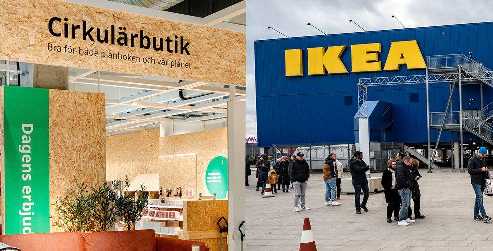 Ikea öppnar Cirkulärbutiken i alla sina svenska varuhus