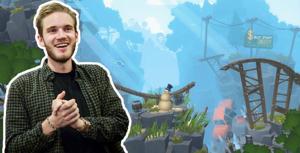 Pewdiepies hemliga ägande i spelstudion Doublemoose games