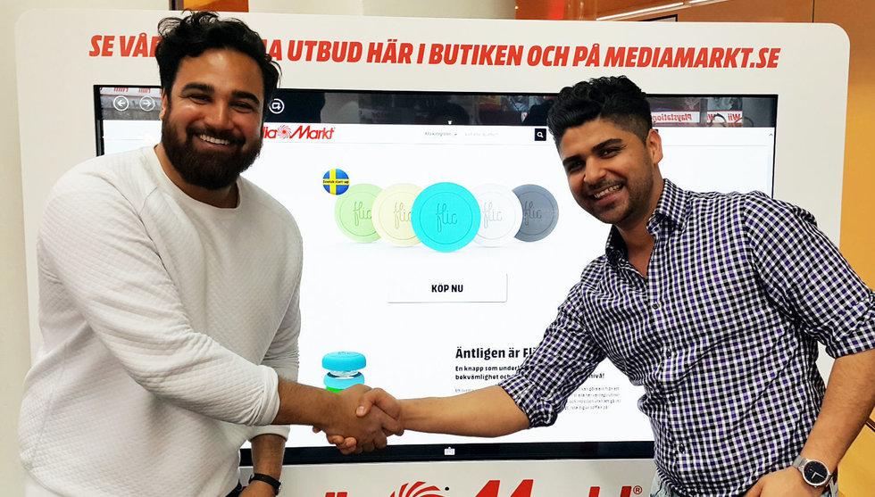 Breakit - Nu ska den smarta knappen Flic börja säljas hos Mediamarkt