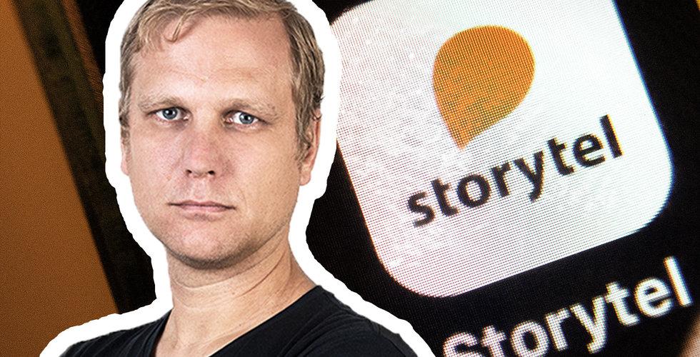 Stefan Lundell: En högst välförtjänt käftsmäll för Storytel-bossen