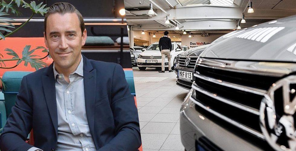 """Wayke fick bilbranschen att """"bojkotta"""" Blocket – nu tvärvänder utmanaren"""