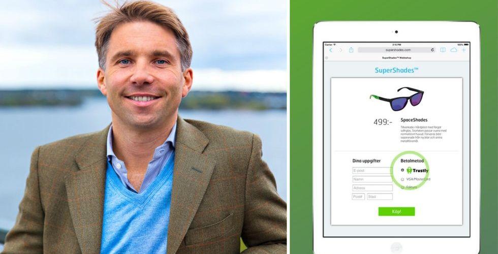 Andreas Bernström tar över klubban i betalsuccén Trustly