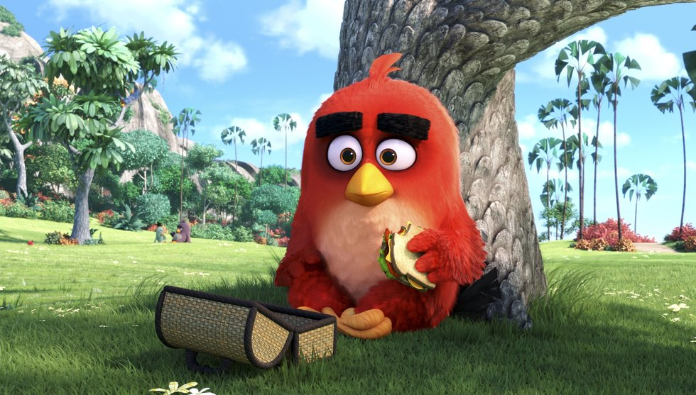 Succé för The Angry Birds movie under första helgen