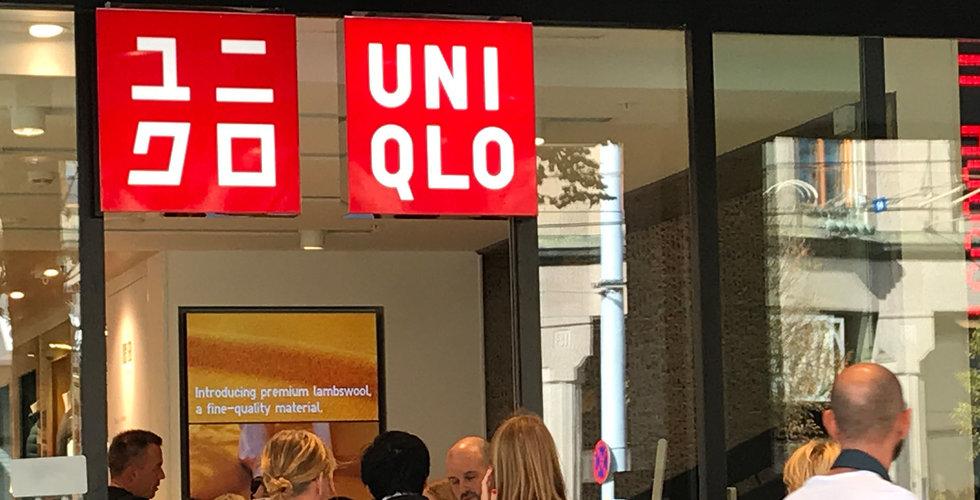 H&M-konkurrenten Uniqlo sänker helårsprognosen