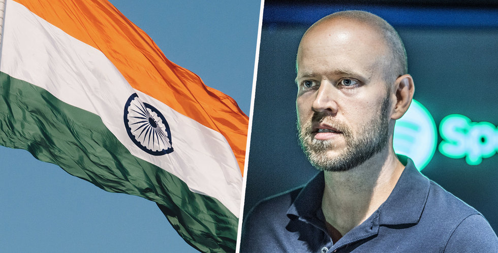 Spotify i avtal med indiska skivbolaget Saregama