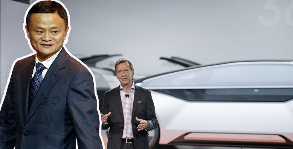 Kinesiska techjätten Alibaba i samarbete med Volvo Cars