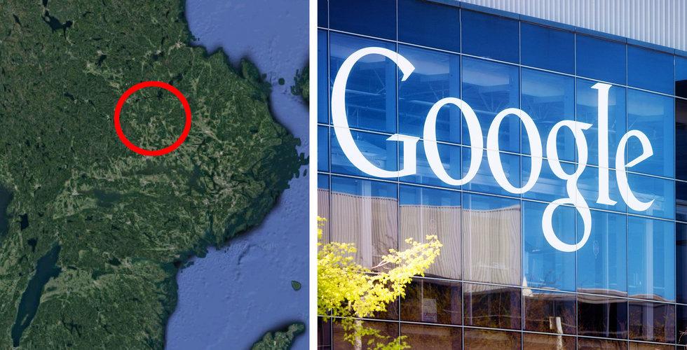Nya detaljer om Googles planer i Dalarna