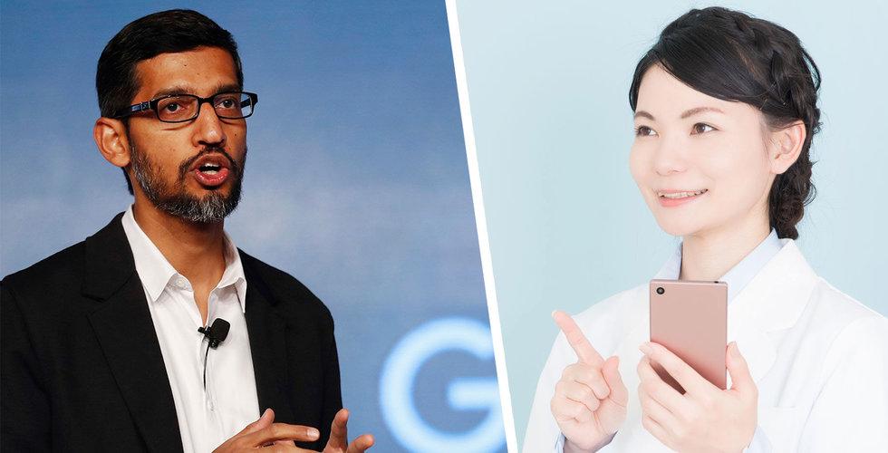 Google investerar 100 miljoner dollar i nätläkartjänsten Amwell