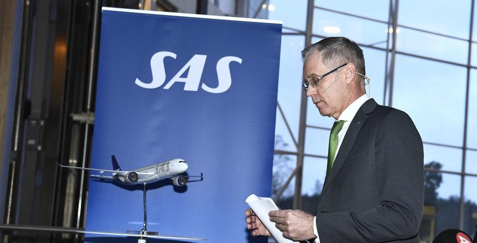 SAS redovisar ny miljardförlust