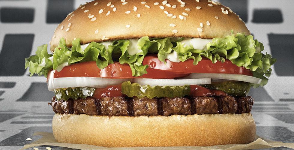 Burger King vinner tvist mot veganer