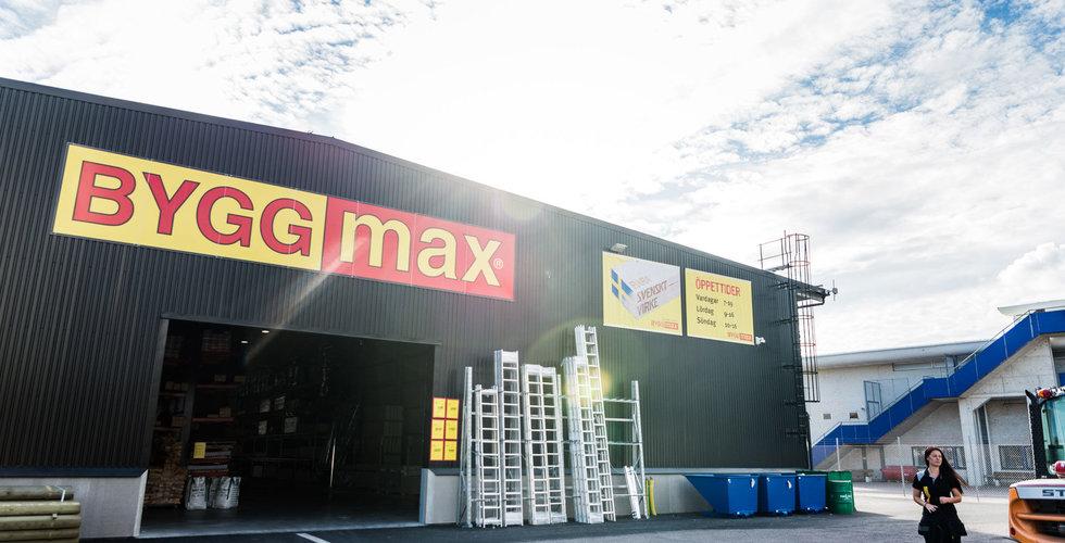 Brakförlust för Byggmax – sänktes av Skånska Byggvaror