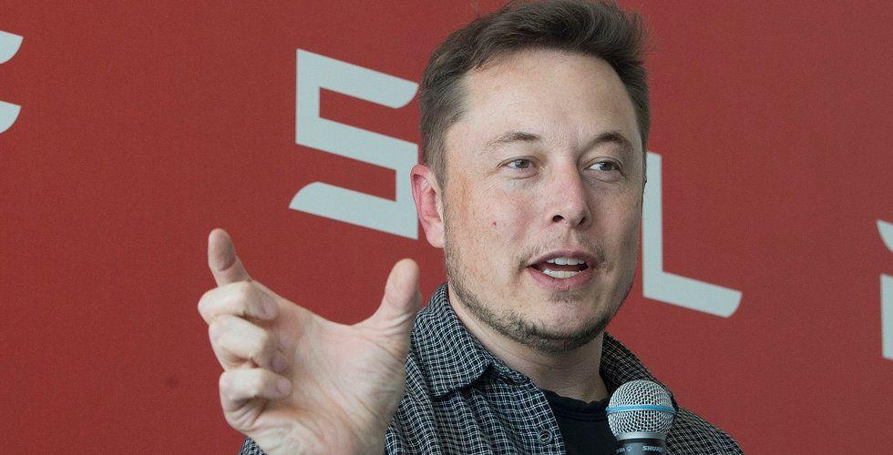 Elon Musk: Om tio år kommer nya fordon kunna köra sig själva