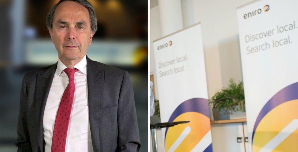 Breakit - Eniros storägare: Jag har ingen avsikt att sälja några aktier
