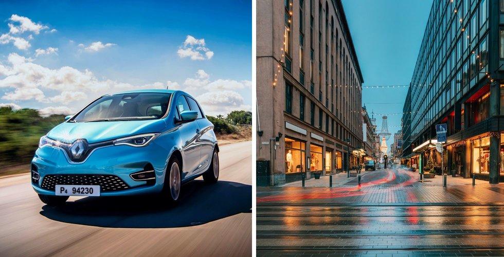 Städerna växer – då satsar Renault på smarta lösningar för mindre trafik och bättre hälsa