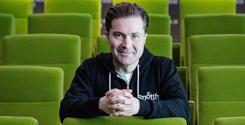 Breakit - Martin Lorentzon får kliva åt sidan - Daniel Ek ny ordförande i Spotify