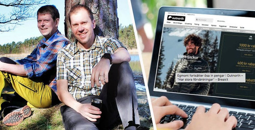 Egmont vässar sin e-handel – köper friluftsaktören Outnorth