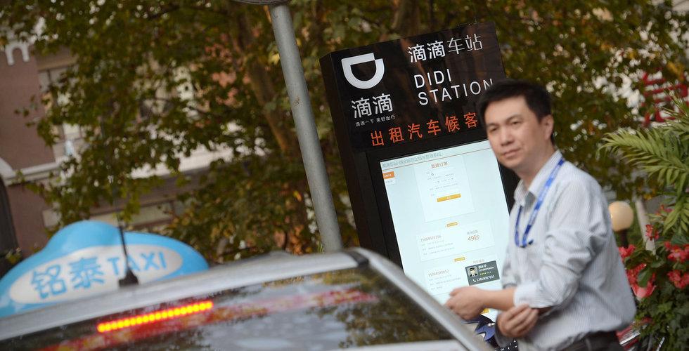 Didi Chuxing får testa självkörande bilar i Kalifornien