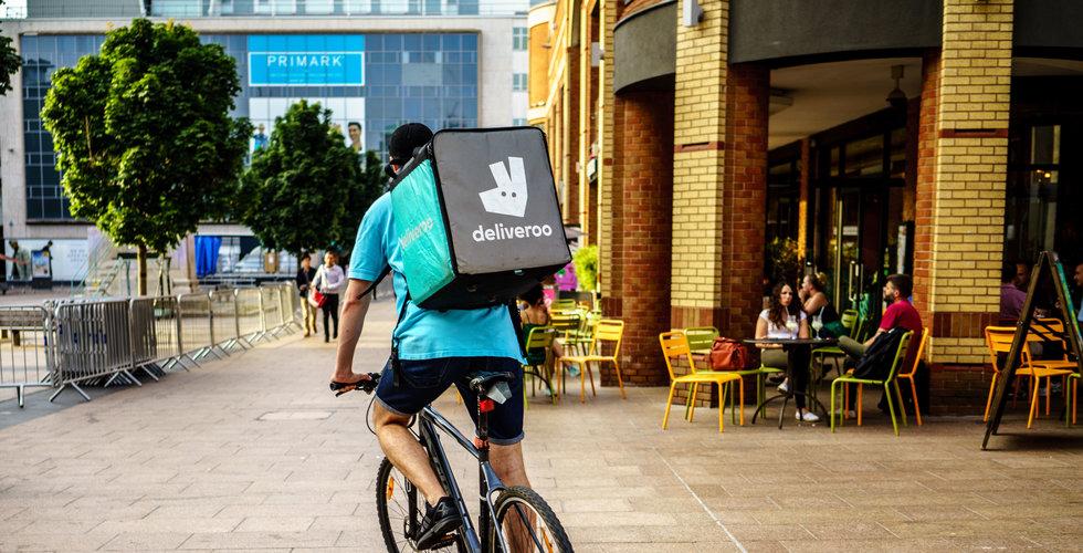 Amazon-backade Deliveroo överväger börsnotering nästa år
