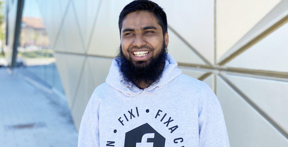 Rafi Mohammed räddades av sina sista kronor – drog igång ett Foodora för cyklar
