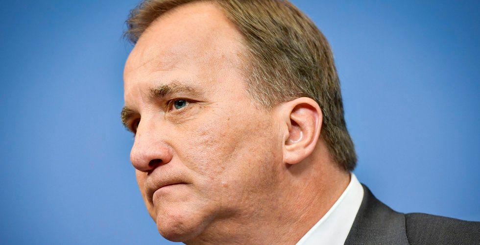 Efter IT-skandalen: Löfven ombildar regeringen
