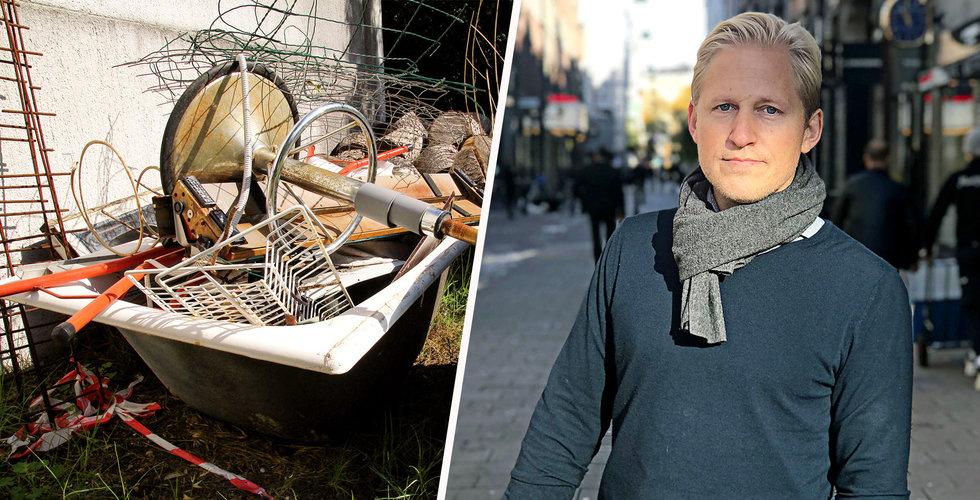 Tiptapp överklagar Stockholms stads förbud om avfallshantering