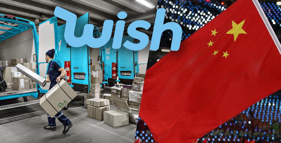 Wish är Sveriges favoritapp för billiga prylar – så mycket omsätter e-handlaren