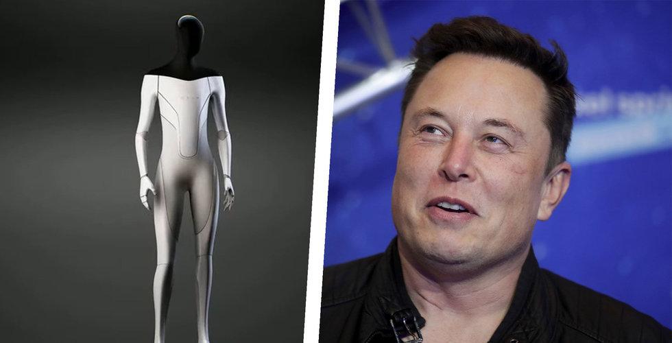 Tesla ska tillverka humanoida robotar