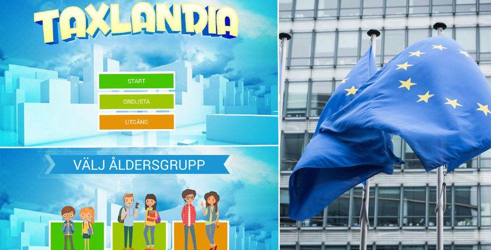 Breakit - Titta här – EU:s nya app Taxlandia ska lära unga hur skatter fungerar