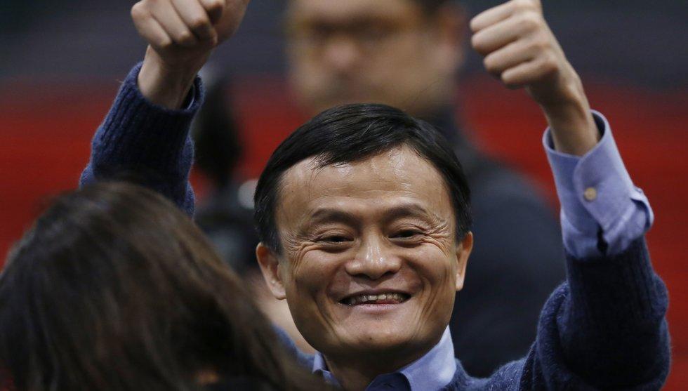 Kinas e-handelsjätte Alibaba överraskar med högre försäljning