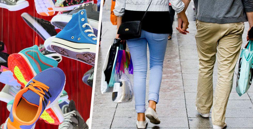 Krissiffror för klädhandeln – vädjar om hyressänkningar