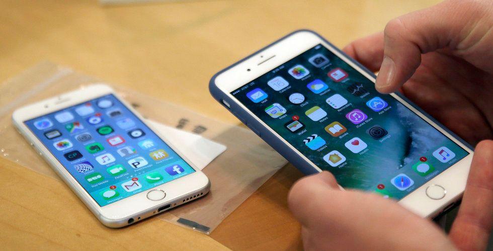 Apple betalar 500 miljoner dollar för sega Iphones