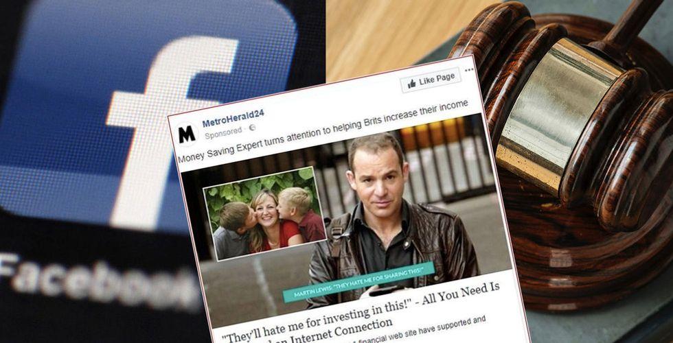 Miljonären Martin Lewis stämmer Facebook för falska annonser