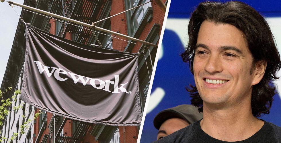 Var tredje teknikanställd på Wework kan få lämna