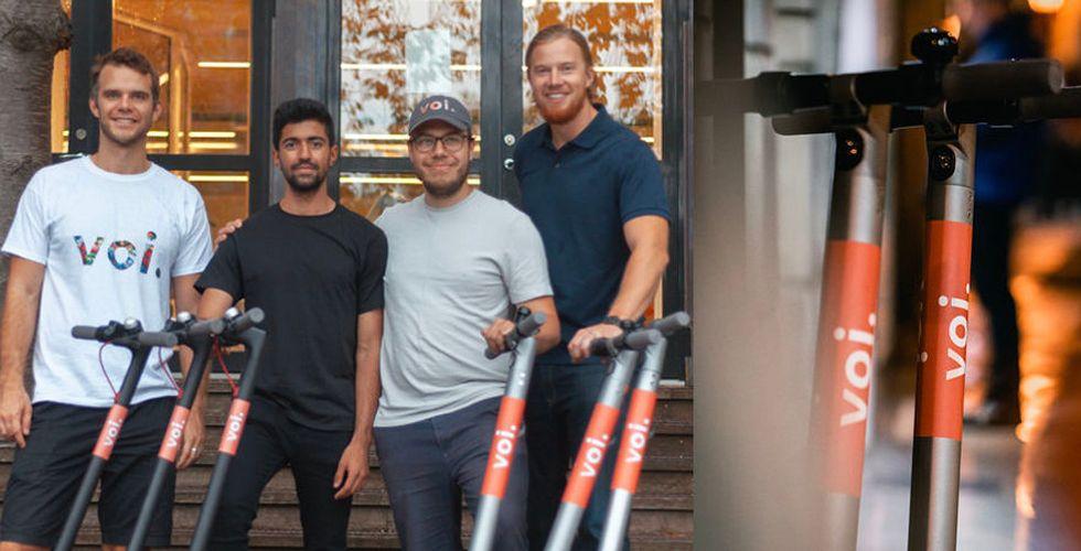 Voi expanderar – nu lanseras sparkcyklarna i Malmö