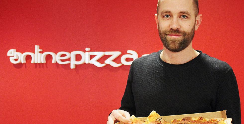 Han tar över Onlinepizza