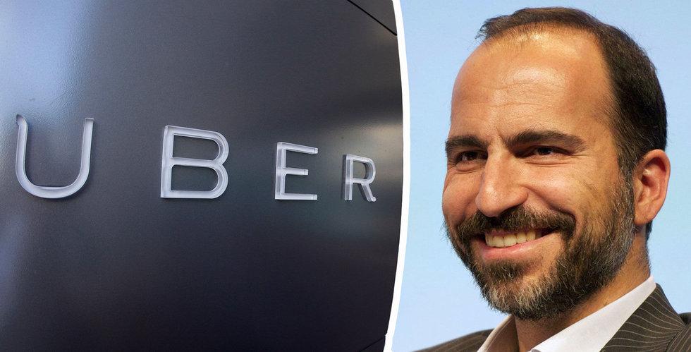 Uber prissätter aktien i nedre delen av intervallet