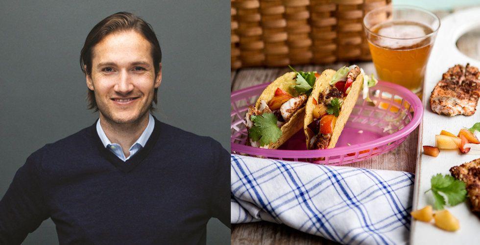 Niklas Östbergs matleveranstjänst ökar omsättningen