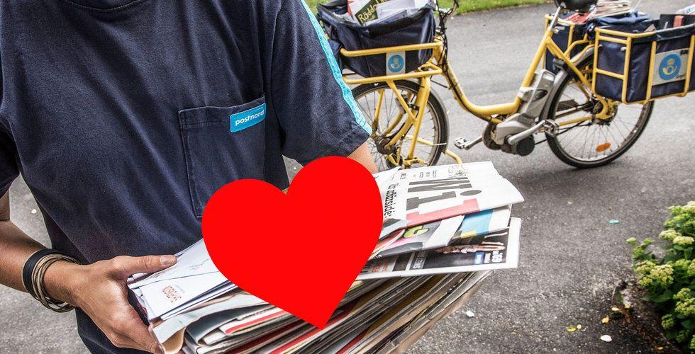 Postnord vill sprida kärlek genom gratis vykort