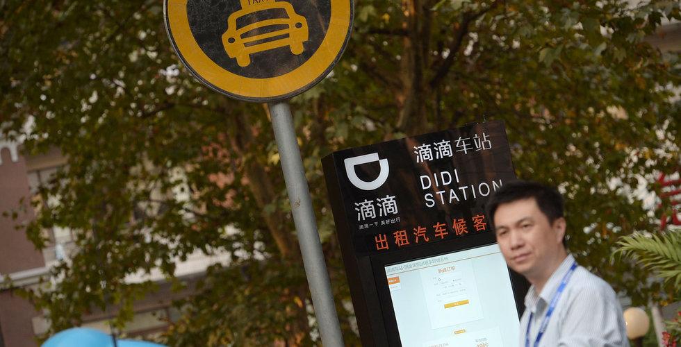 Didi Chuxing kan ha gjort jätteförlust under 2018