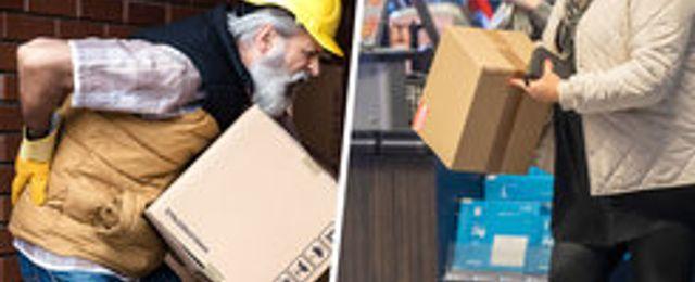 E-handeln granskas av Arbetsmiljöverket – över 1.000 brister hittade