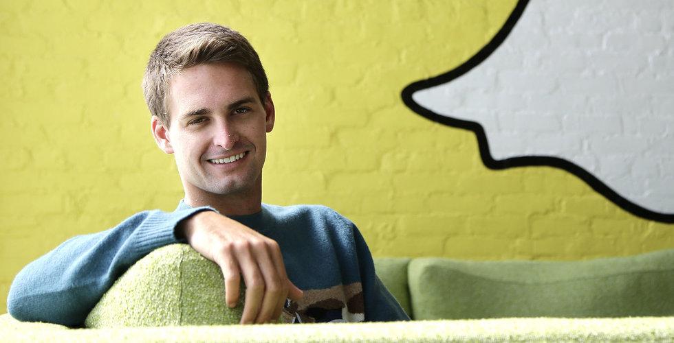 """Snapchats syrliga känga: """"Uppskattar om Facebook snor vår datapolicy"""""""