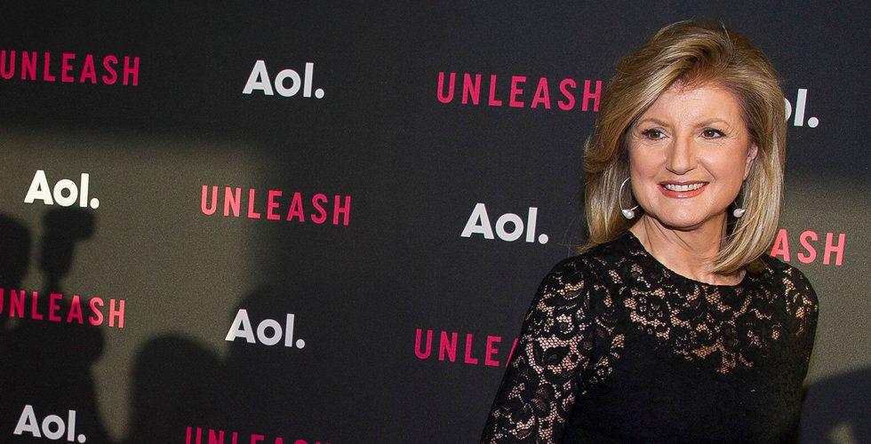Arianna Huffington till Daniels Eks techkonferens i Stockholm