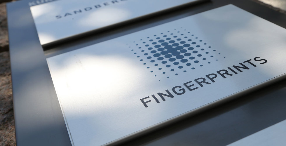 Fingerprint Cards sensor i ny Sharp-telefon