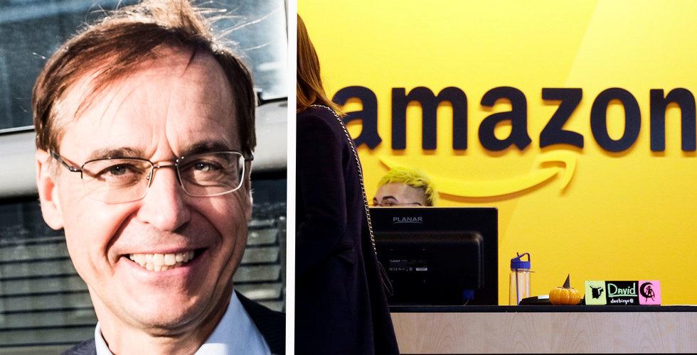 """Breakit - Svenska lås-vd:n: """"Lyckas Amazon kan det gå mycket fort"""""""