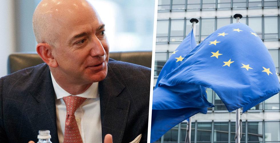 EU anklagar Amazon för konkurrensbrott